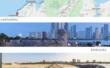 Como viajar de Riohacha a Cartagena