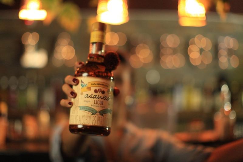 Licor Artesanal Guajiro Asawaa ® en La Trece Bistro